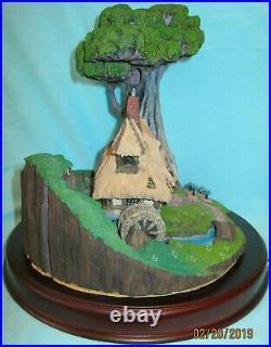 WDCC Sleeping Beauty Woodcutter's Cottage & Briar Rose Olszewski Miniature MIB