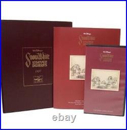 WDCC Snow White & Seven Dwarfs Soups On Ltd Ed #1549 with COA + VHS + Booklet