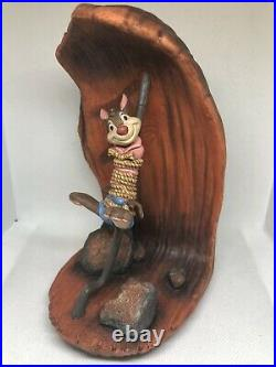 WDCC Song Of The South Brer Fox Brer Rabbit Cooking Up A Plan + BOX/COA Disney
