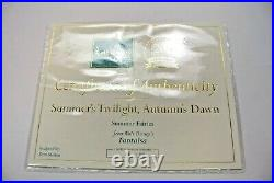 WDCC Summer's Twilight, Autumn's Dawn Summer Fairies from Fantasia 118/500