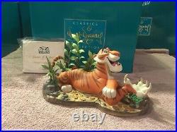 WDCC The Jungle Book Shere Khan Savage Sophisticate + Box & COA