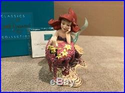 WDCC The Little Mermaid Ariel & Sebastian He Loves Me, He Loves Me Not