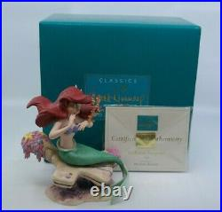 WDCC The Little Mermaid SEAHORSE SURPRISE Ariel MIB with COA