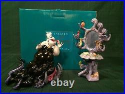 WDCC The Little Mermaid Ursula Devilish Diva + Box & COA