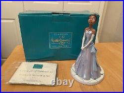 WDCC Tiana Princess And The Frog SIGNED ANIKA NONI ROSE