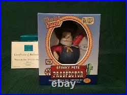WDCC Toy Story 2 Stinky Pete Mint in the Box-Never Been Opened + Box & COA