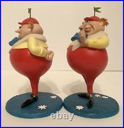WDCC Tweedle Dee & Tweedle Dum Riddles'n' Rhymes and Puzzles'n' Poems NIB