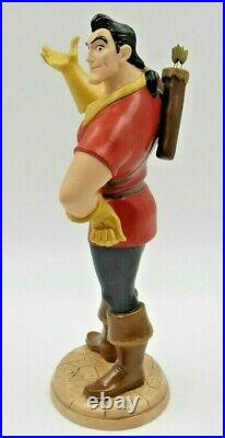 WDCC Village Heartthrob Gaston from Beauty and the Beast in Box COA and Pin