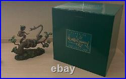 WDCC Villains Series Jungle Book Trust in Me Kaa Mowgli Limited Edition #4004518