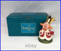 WDCC Walt Disney Alice In Wonderland King of Hearts. AND THE KING! MIB w COA