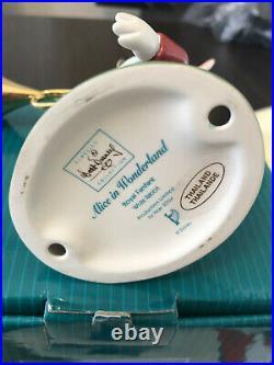 WDCC Walt Disney Alice In Wonderland White Rabbit Royal Fanfare With COA #123007