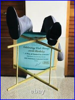WDCC Walt Disney And Mickey It Was all Started by a Mouse 100th Birthday New COA
