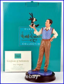 WDCC Walt Disney Classics Collection Walt & Oswald True Originals Brand NEW