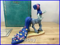 WDCC Walt Disney Classics Fantasia Blue Centaurette Beauty in Bloom COA With Box
