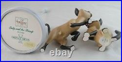 WDCC We Are Siamese if You Please Si & Am from Lady and the Tramp in Box COA
