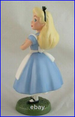 WDCC Yes, Your Majesty Alice from Disney's Alice in Wonderland Box COA WDAC