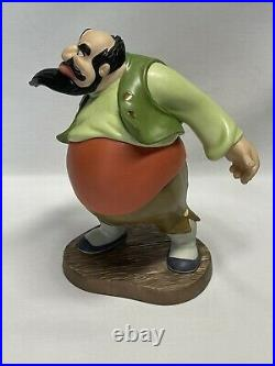 WDCC You Will Make Lots of Money For Me Stromboli from Pinocchio in Box With COA