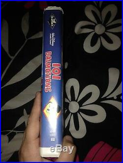 Walt Disney 101 Dalmations VHS Black Diamond Classic