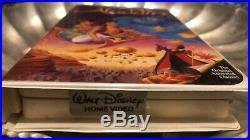 Walt Disney Aladdin (VHS, 1993) Black Diamond Classic Movie