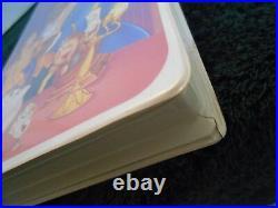 Walt Disney Beauty and the Beast (VHS, 1992) Black Diamond The Classics Edition