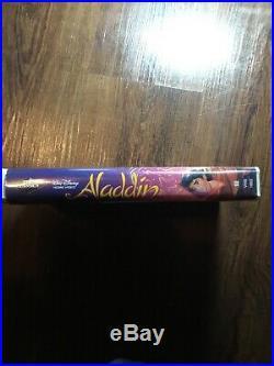 Walt Disney Black Diamond Classic Aladdin -Collectors Item VHS Tape ORIGINAL