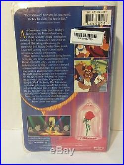 Walt Disney Classic Beauty And The Beast VHS Rare Black Diamond Movie History