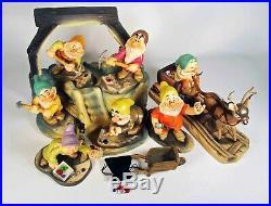 Walt Disney Classic Collection The Complete Dwarfs' Jewel Mine Set, Snow White