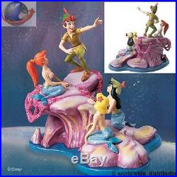 Walt Disney Classic WDCC PETER PAN & MERMAIDS 4006675 RARE DISCONTINUED