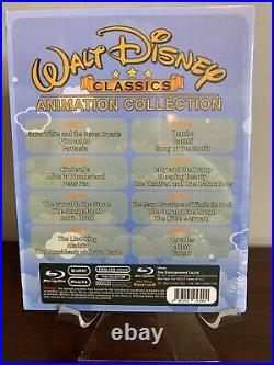 Walt Disney Classics 24 Movie Animation Collection Lot (Blu-ray Disc) Sealed