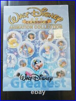 Walt Disney Classics 24 Movie Movies Animation Collection Blu-ray, 8 Discs