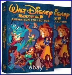 Walt Disney Classics 24 Movie Movies Animation Collection Blu-ray DVD Aladdin ++