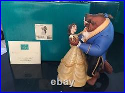 Walt Disney Classics Collection WDCC Beauty & the Beast scene dancing 5 boxes