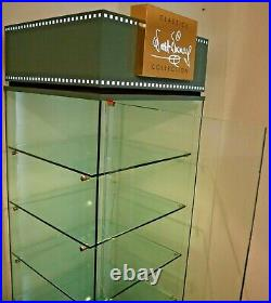 Walt Disney Classics Collection WDCC Lighted Glass Showcase Display Case Cabinet