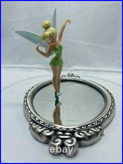 Walt Disney Classics WDCC Peter Pan Tinker Bell Pauses to Reflect with COA and Box