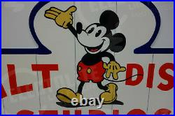 Walt Disney STUDIOS SILLY SYMPHONY Metal Sign-Disney Classic-VERY COLORFUL
