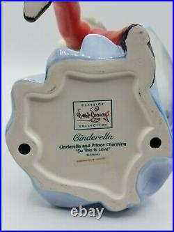 Walt Disney WDCC Cinderella So This Is Love New with COA Signed