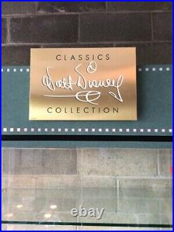 Walt Disney WDCC Classics Collection Store Display Cabinet Rare
