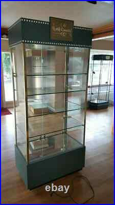 Walt Disney WDCC Classics Collection Store Display Curio Cabinet's ONLY