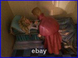 Walt Disney WDCC Sleeping Beauty Ltd edit Loves First Kiss NO BOX