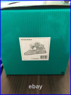 Walt Disney WDCC Uncle Scrooge McDuck A Pool of Riches Figurine COA #1230080