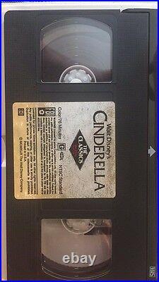 Walt Disney's Classic Cinderella Black Diamond Edition VHS