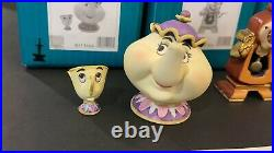 Wdcc Beauty And The Beast Enchanted Size Set Box Withcoa READ