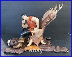 Wdcc Beauty and the Beast Gaston Scheming Suitor MIB withcoa