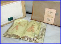 Wdcc Disney Classics Cinderellas Sewing Book With Box & Certificated
