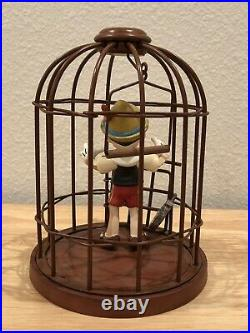 Wdcc Disney Pinocchio And Jiminy Cricket I'll Never Lie Again. Figurine Coa