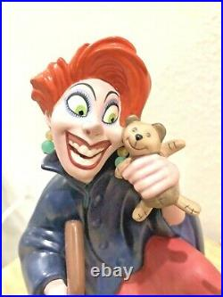 Wdcc Disney The Rescuers Medusa & Penny Teddy Goes With Me, My Dear Figure Coa