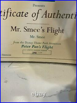 Wdcc Mr Smee's Flight Peter Pan Numbered 390 / 500 Le