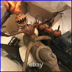 Wdcc Nightmare Before Christmas Pumpkin King Le 500 New