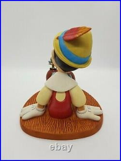 Wdcc Pinocchio Jiminy Cricket Anytime You Need Me Just Whistle