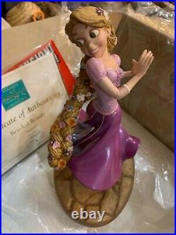 Wdcc Rapunzel Braided Beauty Box Coa